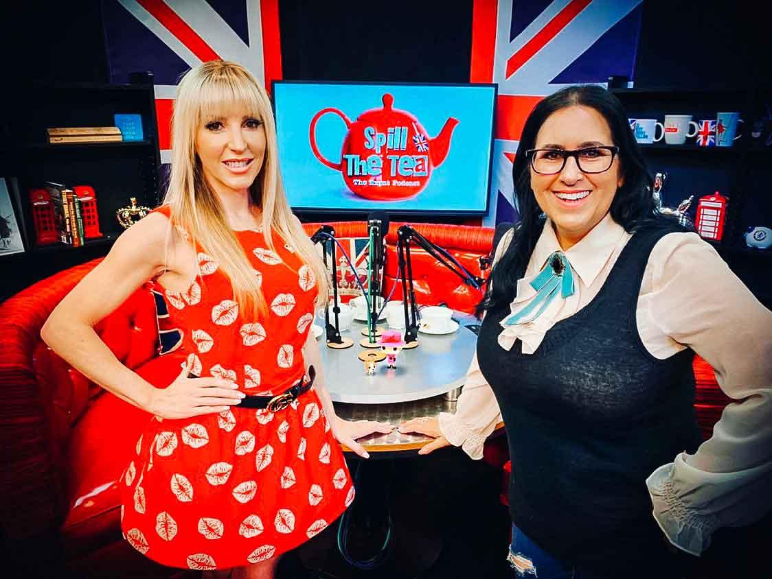 Eve Dawes and Sam Ratcliff Dawes Custom Cosmetics Spill The Tea Live